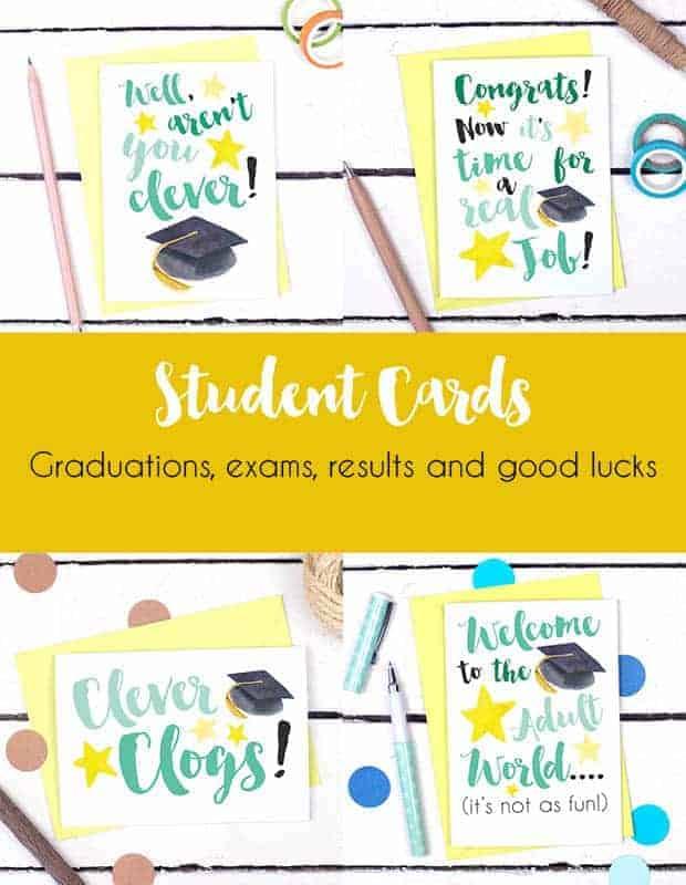 Student Graduation Cards